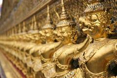 Detalle de Wat Phra Kaew, Bangkok Fotos de archivo libres de regalías