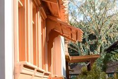 Detalle de Windows de la casa Imagen de archivo libre de regalías