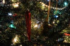 Detalle del árbol de navidad Fotos de archivo libres de regalías