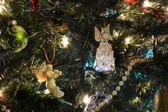 Detalle del árbol de navidad Imagen de archivo libre de regalías