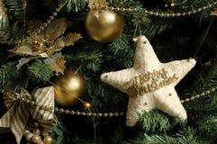 Detalle del árbol de navidad Fotografía de archivo libre de regalías