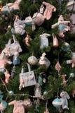 Detalle del árbol de navidad del bebé Imagen de archivo