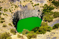 Detalle del agujero grande en Kimberley Imagen de archivo libre de regalías