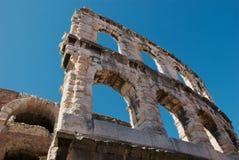 Detalle del anfiteatro romano Fotografía de archivo libre de regalías