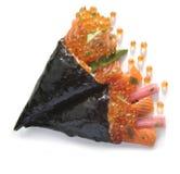 Detalle del aperitivo del sushi fotografía de archivo
