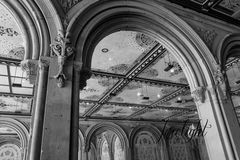 Detalle del arco en NYC Fotografía de archivo libre de regalías