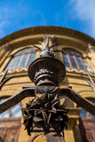 Detalle del arrabio de la cerca en Teatro Máximo Fotos de archivo libres de regalías