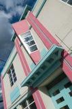 Detalle del art déco de San Juan Foto de archivo