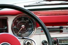 Detalle del automóvil de la vendimia Fotografía de archivo