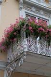 Detalle del balcón Fotografía de archivo libre de regalías