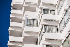 Detalle del balcón, Vina del Mar Fotos de archivo