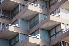 Detalle del balcón, Vina del Mar Imagen de archivo