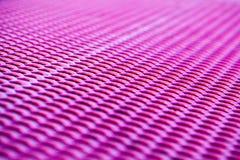 Detalle del banco rosado en el color rosado Foto de archivo libre de regalías
