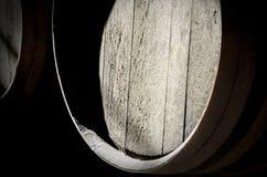 Detalle del barril de vino Fotografía de archivo