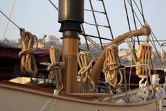 Detalle del bote salvavidas Imagen de archivo libre de regalías