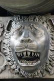 Detalle del cañón del zar (rey Cannon) Imagen de archivo libre de regalías