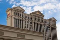Detalle del Caesars Palace en Las Vegas Imagen de archivo libre de regalías