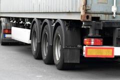 Detalle del camión foto de archivo