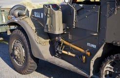 Detalle del carro del Ejército del EE. UU. Imágenes de archivo libres de regalías