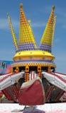 Detalle del carrusel de un parque de atracciones Fotografía de archivo