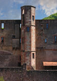 Detalle del castillo Imágenes de archivo libres de regalías