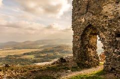 Detalle del castillo Imagen de archivo