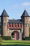 Detalle del castillo ?De Haar? Foto de archivo libre de regalías