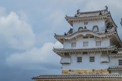 Detalle del castillo Japón de Himeji fotos de archivo libres de regalías