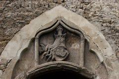 Detalle del castillo viejo de Jajce Imágenes de archivo libres de regalías