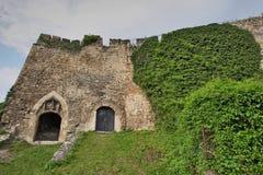 Detalle del castillo viejo de Jajce Fotos de archivo libres de regalías