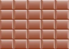 Detalle del chocolate stock de ilustración