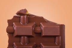 Detalle del chocolate Imagen de archivo