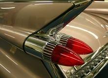 Detalle del coche antiguo fotografía de archivo