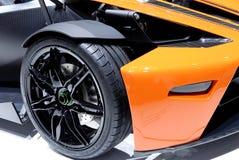 Detalle del coche de deportes Fotografía de archivo
