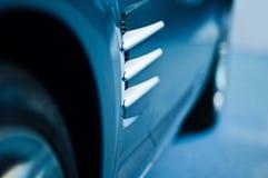 Detalle del coche de deportes imagenes de archivo