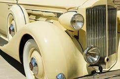 Detalle del coche de la vendimia Imagen de archivo