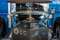 Detalle del coche de lujo Mercedes-Benz 24/100/140 picosegundo Fleetwood D, 1924 Imagen de archivo libre de regalías