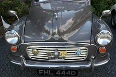 Detalle del coche de morris del vintage Foto de archivo