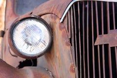 Detalle del coche del Jalopy Imagen de archivo libre de regalías