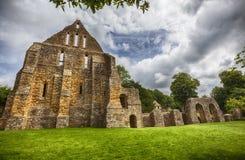 Detalle del complejo en abadía de la batalla en la ciudad de la batalla en Suss del este Imagen de archivo libre de regalías