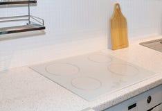 Detalle del cooktop de la cocina Foto de archivo libre de regalías