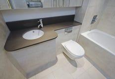 Detalle del cuarto de baño Fotos de archivo