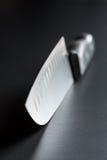 Detalle del cuchillo de cocina imágenes de archivo libres de regalías