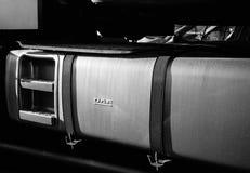 Detalle del depósito de gasolina del camión de la DAF Fotos de archivo libres de regalías