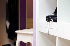 Detalle del departamento interior de la ropa Imágenes de archivo libres de regalías