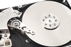 Detalle del disco duro Foto de archivo