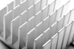 Detalle del disipador de calor Foto de archivo libre de regalías