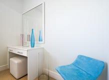 Detalle del dormitorio Imagen de archivo