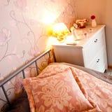 Detalle del dormitorio Fotografía de archivo libre de regalías