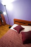 Detalle del dormitorio Imagen de archivo libre de regalías